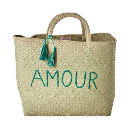 Einkaufskorb Amor grün